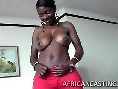 African cutie loves riding man meat