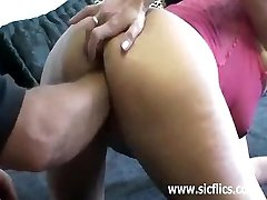 Extremely brutal vaginal fist drilling penetra