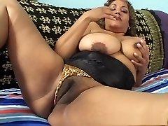 Exotic pornographic star in crazy mature, latina porno video
