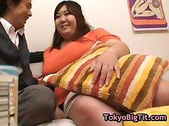 Fat hitomi matsumoto playing with banana 15 by tokyobigtit