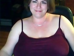 Solo #18 (Attractive Lush MILF showing Huge Natural Boobs)