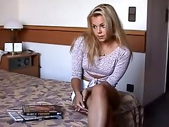 Allows husband to fuck gorgeous blonde!
