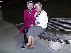 Turecký arabčina ázijské hijapp mix ph