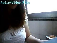 Kitajski bejba, doječe na webcam