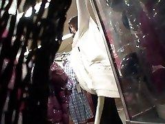 Omamljanje Asian dekle dobi dva fanta, da pofukati tesen muco luknja