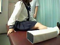 Parfait Jap salope jouit d'un coquin massage hidden cam vidéo