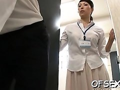 Slutty scene of real hard core fucking in the workplace