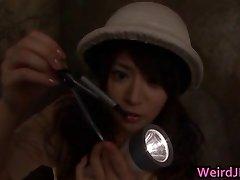 Asian honies at erotic broadcasts