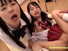 Abe Mikako Does Deep Rimming Shares Eating Spunk With Pal
