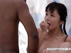 Chinese fuck by two ebony dicks - ASIANPORNDADD