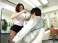 АВС-museum100438 эротические мини-юбки Парикмахерская Рейко Nakamori Ок1 без цензуры