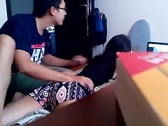 Vietnamese Boyfriend's hidden webcam for nothing