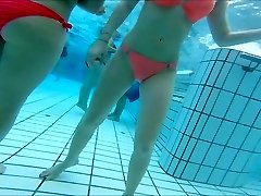 sexy japanese and  teen gals nice  butts at pool