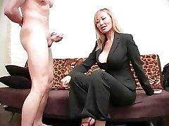 Brutal Female Domination Ball Busting 08 - Scene 4