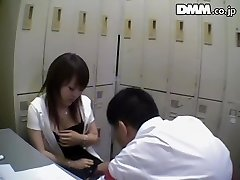 Ugly Japanese babe sucks dick in spy webcam Japanese sex video