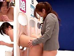 Amazing Japanese whore Saki Izumi, Hitomi Honjou, An Mizuki, Amateur in Stellar strapon, all girl JAV clip