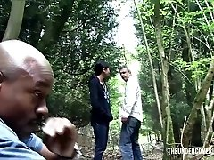 Stranded Nubile in the Woods