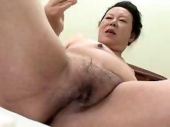 Japanese PLUS-SIZE Granny shino moriyama 66-years-aged H-0930