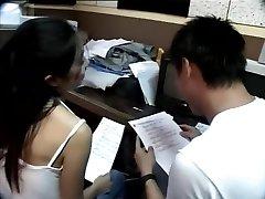 Taiwanese couple take a inspect break