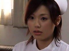Crazy Japanese whore Yui Matsuno in Astounding Medical, Close-up JAV movie