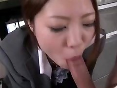 Asian office suck