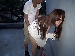 Best Chinese whore Megu Hazuki in Exotic doggy style, outdoor JAV vid