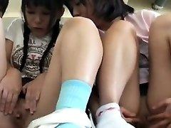 Summer College Girls With Sunburn Trace