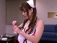 Busty japanese nurses in medical 3some fun