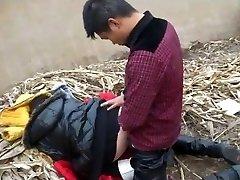 Chinese Teens Public Fuckfest
