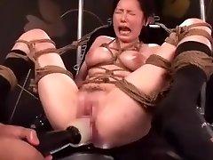 Asian AV Porn Nailing Machine Maturbation (DXHK003) Ayuka Chisato