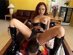 Incredible pornographic star Annie Cruz in best oral pleasure, anal sex clip