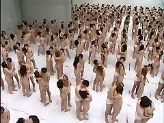 Big Group Bang-out Orgy