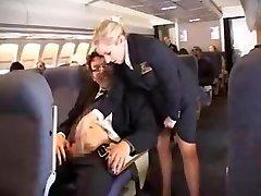 americký letuška handjob časť 1