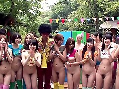 Ayaka Tomoda & Hitomi Kitagawa in Erito Fuckfest Camp Part 1 - TeensOfTokyo