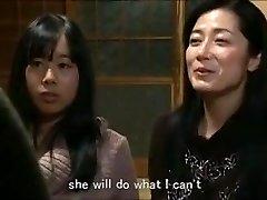 Jap mom daughter keeping mansion m80 slaves