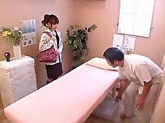 Lovely babe gets banged hard in voyeur Japanese hookup video