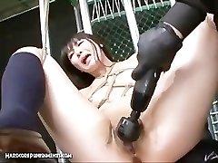 Extrémne Japonský BDSM Sex