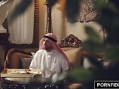 PORNFIDELITY Nadia Ali Rough Muslim Punishment Hump