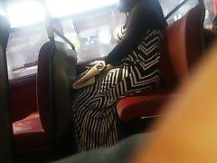Big Booty Zebra Dress Candid Pt 2.