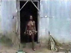 African aborigine pummeling