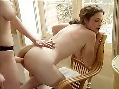 Incredible Homemade clip with Strapon, Lesbian scenes