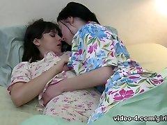 Veruca James & Violet Starr in Cheer Squad Sleepovers #21, Episode #02 - GirlfriendsFilms