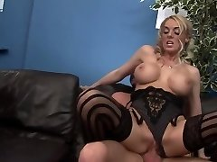 Horny superstars Antonia Deona and Dani Amour in fabulous group sex, lingerie xxx clip
