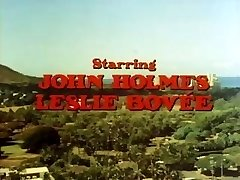 Classic porn with John Holmes getting his big manhood deepthroated