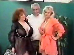 Vintage FFM Threesome With Mature Girls