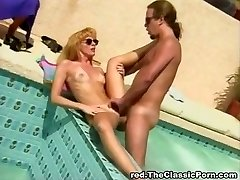 Classic poolside pounding