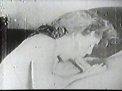 Super Hot slut sucking vintage cock