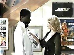 Retro Interracial, Blondýnka Porno 1