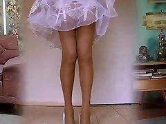 1950's Nylon Punčochy Legshow