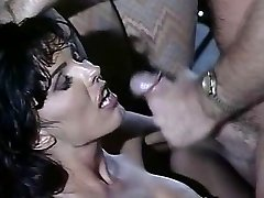 Anna Malle - Black-haired screwed in the Bar